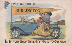 Iowa Burlington De Only trouble Mit 1911 Pennant Series