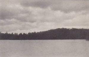 New York Lake Kushaqua Albertype