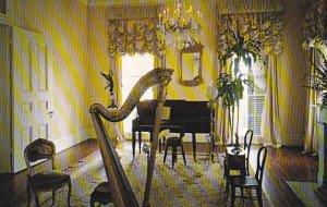 Louisiana White Castle Nottoway Plantation Music Room