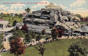 Pennsylvania Willow Grove Park Mountain Scenic Railway