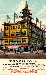 California San Francisco Sing Fat Company Oriental Bazaar