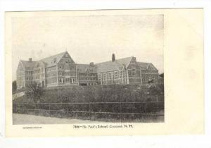 St. Paul's School, Concord, New Hampshire, 1900-1910s