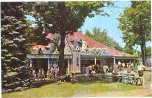 House of Seven Gables, Canobie Park, Salem, New Hampshire, NH, Chrome