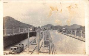 Real Photo Panama Canal  L679