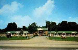 New York Binghamton Colonial Motel 1953