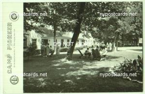 RPPC, Camp Pioneer, Angola NY