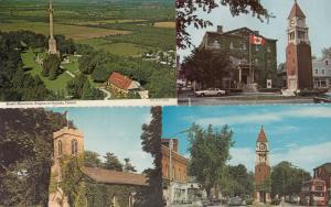 Brocks Monument Clock Tower Niagara On The Lake 4x Canada Postcard s