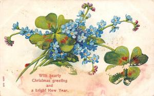 With hearty Christmas Greetings and a bright New Year forget-me-not 1906