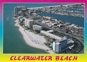 Florida Clearwater Beach Aerial View 1997