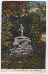 Daniel Boone Monument, Cherokee Park, Louisville KY