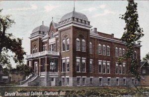 CHATHAM, Ontario, Canada; Business College, PU-1908