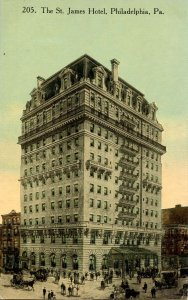 PA - Philadelphia. The St. James Hotel