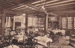 England Winchester Dining Room Ye Olde Hostel Of God Begot