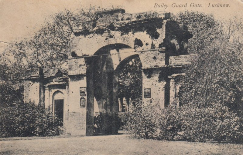 LUCKNOW , India , 00-10s ; Bailey Guard Gate