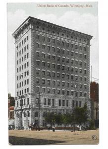 Union Bank of Canada Winnipeg Manitoba Before Autos