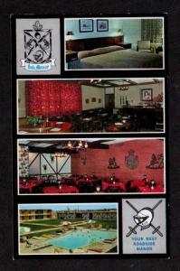 ND Oak Manor Motor Lodge Motel FARGO NORTH DAKOTA PC