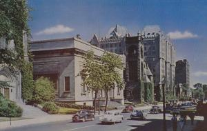 Art Gallery , Sherbrooke Street , MONTREAL , Quebec  , Canada , 40-60s