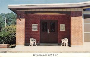 Tupelo MIssissippi~The Elvis Presley Birthplace Gift Shop~1980s Postcard