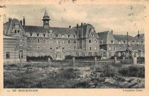 France Berck Plage L'Institut Calot Postcard
