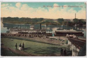 Wharf, Alabama River, Montgomory AL