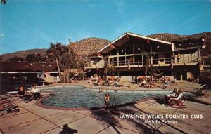 Escondido California Lawrence Welks Country Club Mobile Estates Postcard J69421