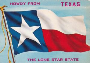 Texas State Flag Howdy From Texas The Lone Star State Texas