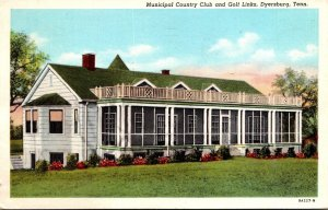 Tennessee Dyersburg Municipal Country Club and Golf Links 1949 Curteich