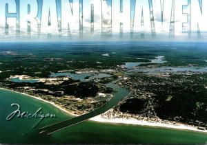 Michigan Grand Haven Aerial View