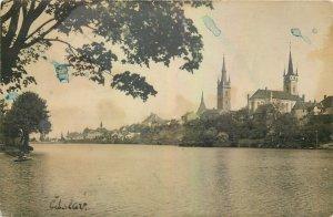 Postcard Czech Republic Padouk Caslav