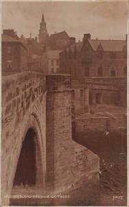 Bridgend Berwick on Tweed River, Brucke Pont General view Church Judges Hastings