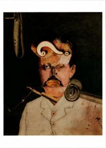 A Victim of Society by George Grosz Dada Collage Art Postcard