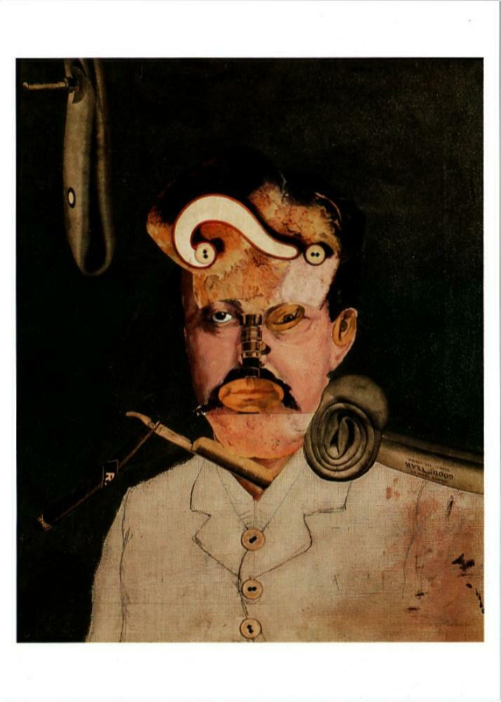 A Victim Of Society By George Grosz Dada Collage Art Postcard Hippostcard