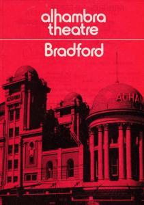 Dai Francis The Jolson Revue Minstrels Bradford Yorkshire Theatre Programme