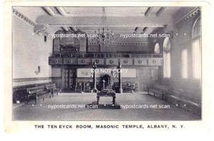 Interior, The Ten Eyck Room, Masonic Temple, Albany NY