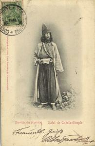 turkey, CONSTANTINOPLE, Dervish of the Province (1902) Ludwigsohn Postcard