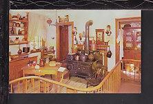 Kitchen,General Grant Home,Galena,IL Postcard BIN