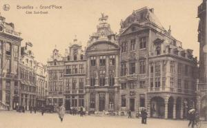 Courtyard View, Cote Sud-Oest, Grand´Place, Brussels, Belgium 1900-10s