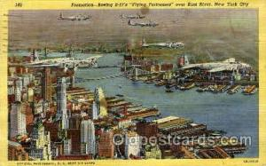 New York City, NY, USA Postcard Post Card Boeing B17 Flying Fortress