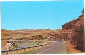 San Juan River & Bridge at Mexican Hat Utah UT