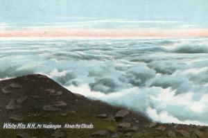 NH - Mt. Washington, Above The Clouds