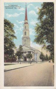 SAVANNAH, Georgia, 1900-1910's; Independent Presbyterian Church