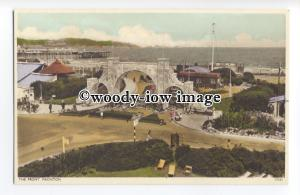 tq1428 - The Elaborate Entrance to the Seafront & Gardens, Paignton - postcard