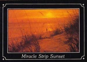 Florida Fort Walton Beach Miracle Strip Sunset