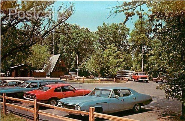 OH, Loudonville, Ohio, Canoe Livery, 1970s Cars, Dexter Press No. 77788-C