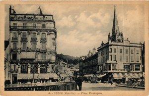 CPA Correze TULLE Place Municipale pont (984181)