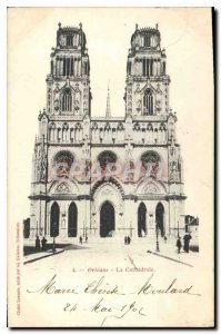 Old Postcard Orleans Cathedrale