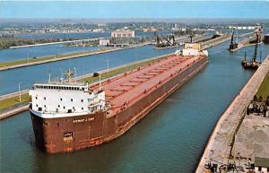 5632  Freighter Stewart J. Cort , Soo Locks, Sault Ste. Marie, MI