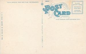 Utica New York~Belltower & Columns~Masonic Home Chapel @ Sunrise~c1920 Postcard