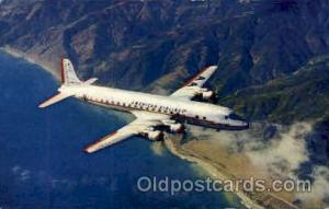 American Airlines DC-7 Flagship Airplane, Aviation, Postcard Post Card  Ameri...