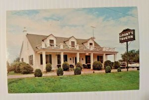 Vintage Postcard Grants Tavern Roanoke Virginia Christiansburg Unposted  758